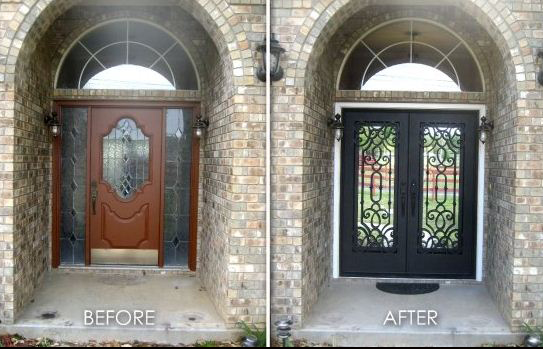 Door Before After